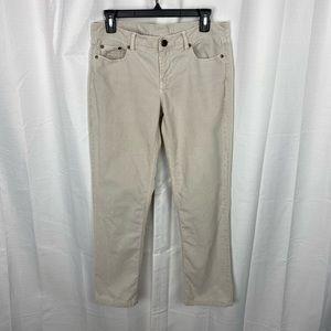J.Crew Beige Vintage Matchstick Corduroy Jeans